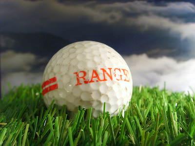 Roter Streifen-Rangeball