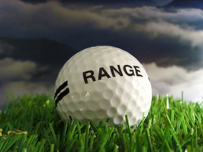 Doppelstrich Rangeball