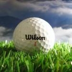 Golfball der Marke Wilson