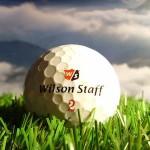 Golfball Wilson Staff