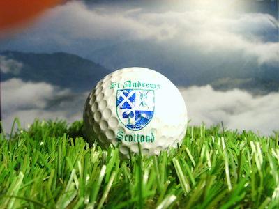 Golfbälle aus St Andrews: Golfball St Andrews Scottland