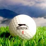 Der Slazenger Golfball von Goldfinger